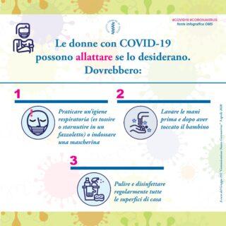 allattamento durante Covid-19
